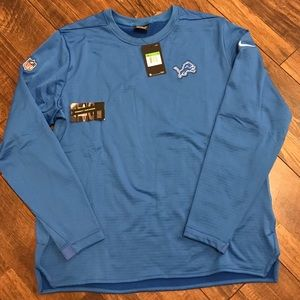 Detroit Lions On Field Apparel Nike New with Tags